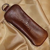 Подарки к праздникам handmade. Livemaster - original item Key holders of leather Redbag. Handmade.