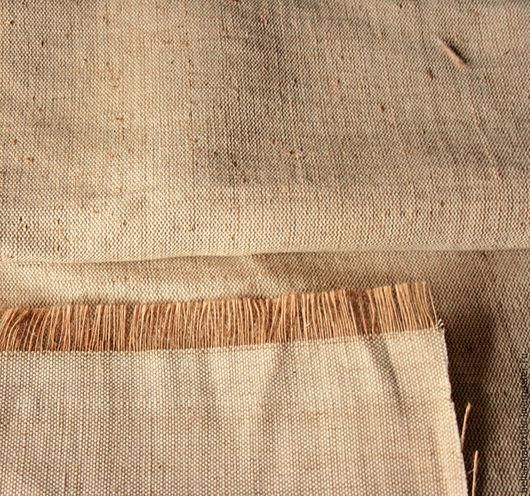 Шитье ручной работы. Ярмарка Мастеров - ручная работа. Купить 50х94 см, Ткань холст Хлопок/Джут. Handmade. Коричневый, джут