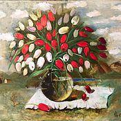 Картины и панно ручной работы. Ярмарка Мастеров - ручная работа Сны о Голландии. Handmade.