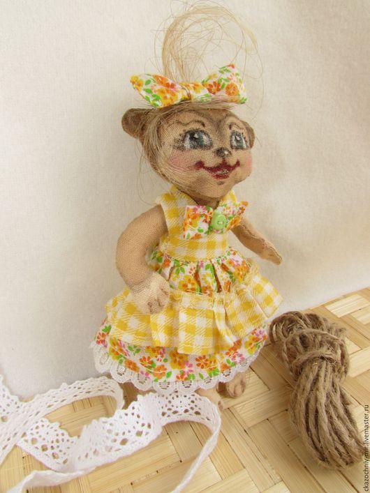 Ароматизированные куклы ручной работы. Заказать Мимишная мартышка - девочка Эльза. Елена Полищук и её 'Сказочный Мир' (ckazochniy-mir). Ярмарка Мастеров.