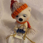 Куклы и игрушки ручной работы. Ярмарка Мастеров - ручная работа мишка Андрюшка. Handmade.