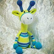 Куклы и игрушки ручной работы. Ярмарка Мастеров - ручная работа Жирафик. Handmade.