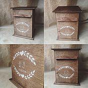 Свадебный салон ручной работы. Ярмарка Мастеров - ручная работа Post box почтовый ящик для денежных подарков. Handmade.