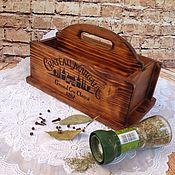 Для дома и интерьера ручной работы. Ярмарка Мастеров - ручная работа Короб для специй (короб для пряностей). Handmade.