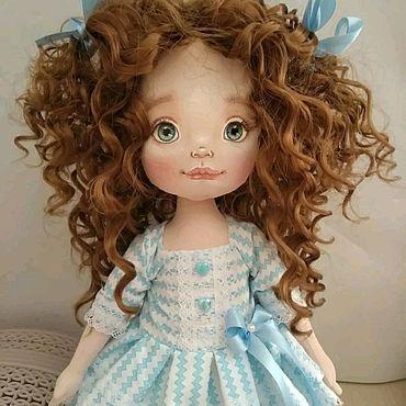 Куклы и игрушки ручной работы. Ярмарка Мастеров - ручная работа Элиза.Текстильная куколка. Handmade.