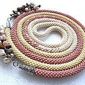 Украшения handmade. Livemaster - original item Lariat necklace beads