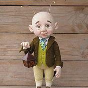 Куклы и игрушки ручной работы. Ярмарка Мастеров - ручная работа И сказку расскажет вам добрый сверчок.... Handmade.