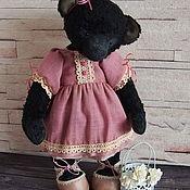 Куклы и игрушки ручной работы. Ярмарка Мастеров - ручная работа Мишка тедди Агата. Handmade.