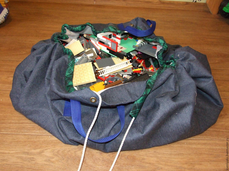 fda8c6d6bcb8 Ярмарка Мастеров - ручная работа. Купить Сумка-коврик для конструктора типа  · ручной работы. Сумка-коврик для конструктора типа Lego.