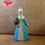 Винтаж ручной работы. Ярмарка Мастеров - ручная работа Снегурочка   композитная (опилочная). Handmade.