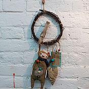 """Для дома и интерьера ручной работы. Ярмарка Мастеров - ручная работа Интерьерная подвеска """"Кролик"""". Handmade."""