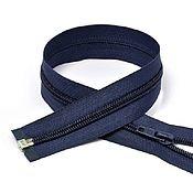 Материалы для творчества handmade. Livemaster - original item Plastic detachable zipper No№5-N, 50 cm.. Handmade.