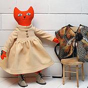 Куклы и игрушки handmade. Livemaster - original item Red Cat in Boots. Handmade.