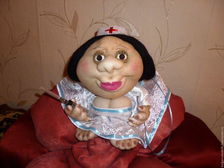 Интерьерная Кукла-попик, Мягкие игрушки, Болгар,  Фото №1
