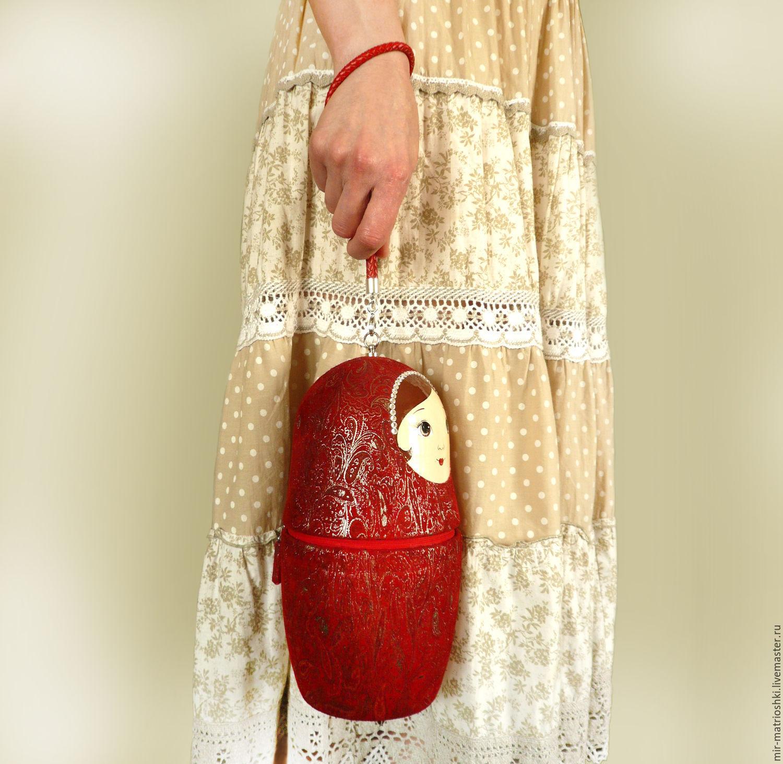 Bag 'Matryoshka', Classic Bag, Sarov,  Фото №1