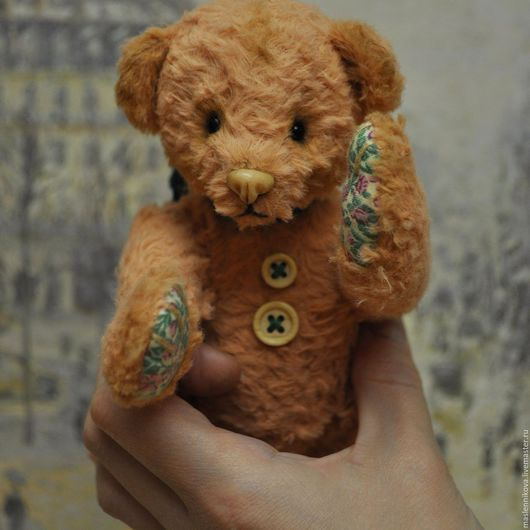 Мишки Тедди ручной работы. Ярмарка Мастеров - ручная работа. Купить Медведь Джуди (17см). Handmade. Кремовый, teddy bear