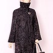 Одежда ручной работы. Ярмарка Мастеров - ручная работа Cвакара шелковая Манто леди шик воротник четыре уровня защиты. Handmade.