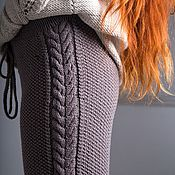 Одежда handmade. Livemaster - original item The trend of the season! Knitted trousers.. Handmade.