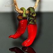 Украшения ручной работы. Ярмарка Мастеров - ручная работа подвеска Перчик Чили. Handmade.