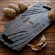 Для дома и интерьера handmade. Livemaster - original item Severe tray. Handmade.