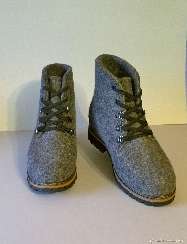 e0d9ace65 Обувь ручной работы. Ярмарка Мастеров - ручная работа. Купить Валяные  ботинки