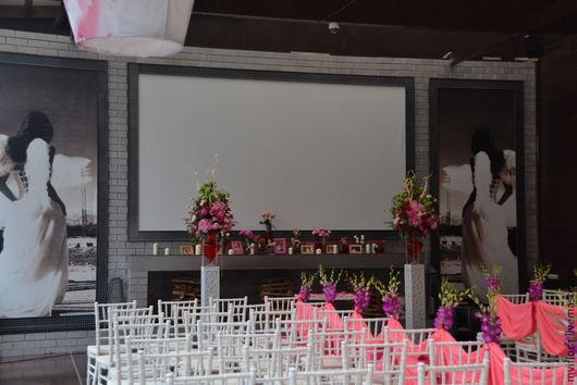 Оформление свадьбы_фуксия