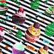 """Кофты и свитера ручной работы. Тельняшка """"Капкейки"""". Карина instagram karina_bro (karina-bro). Интернет-магазин Ярмарка Мастеров. В полоску"""