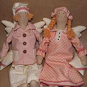 Куклы и игрушки ручной работы. Ярмарка Мастеров - ручная работа Сонные ангелы. Влюбленная парочка. Handmade.