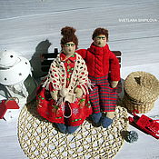 Куклы и игрушки ручной работы. Ярмарка Мастеров - ручная работа Семейная пара. Handmade.