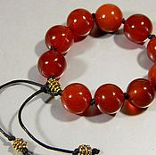 Фен-шуй и эзотерика handmade. Livemaster - original item Rosary earthly Wealth, Fame natural Carnelian.. Handmade.