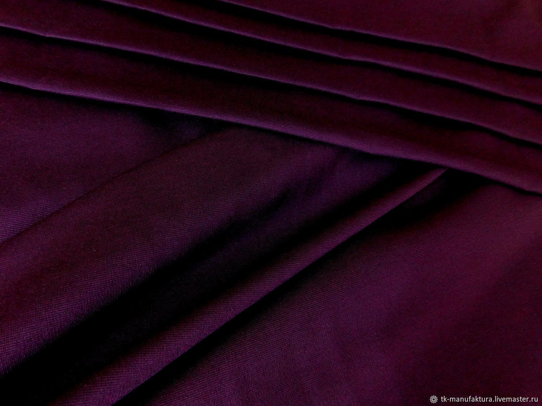 Джерси антипиллинг баклажан, Ткани, Санкт-Петербург,  Фото №1