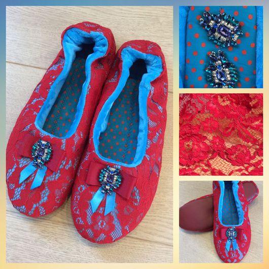 Обувь ручной работы. Ярмарка Мастеров - ручная работа. Купить Балетки ( модель 6). Handmade. Балетки ручной работы