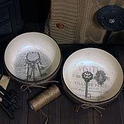"""Для дома и интерьера ручной работы. Ярмарка Мастеров - ручная работа Чаша для мелочи """"The KeyS"""". Handmade."""