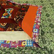 Для дома и интерьера ручной работы. Ярмарка Мастеров - ручная работа Лоскутное одеяло № 3. Handmade.
