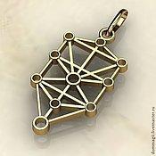 Amulet handmade. Livemaster - original item Golden klipod. Handmade.