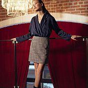 Одежда handmade. Livemaster - original item Women`s skirt of medium length. Handmade.