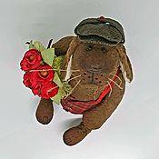 Тедди Зверята ручной работы. Ярмарка Мастеров - ручная работа Собака. Handmade.