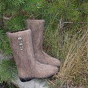 """Обувь ручной работы. Ярмарка Мастеров - ручная работа Валенки """"Совушки"""". Handmade."""