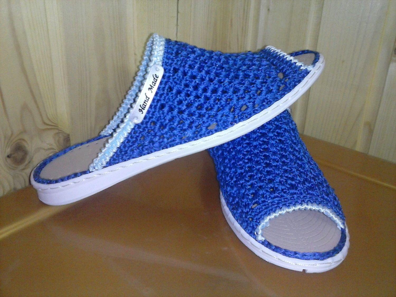Slippers. . Knitted shoes, Footwear, Samara,  Фото №1