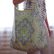 Сумки и аксессуары ручной работы. Ярмарка Мастеров - ручная работа летняя большая сумка. Handmade.