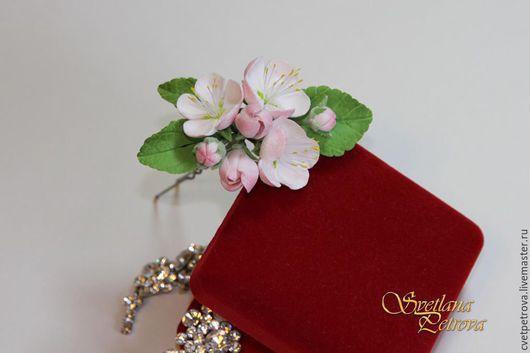`Цветущая яблоня` шпильки в прическу
