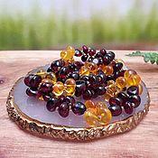 Работы для детей, handmade. Livemaster - original item Amber. Beads