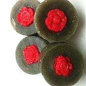 Косметика ручной работы handmade. Livemaster - original item soap from scratch Spicy tomato. Handmade.