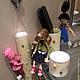 Коллекционные куклы ручной работы. Агнес ,Эдит и Марго. Елена (DollyPolly). Ярмарка Мастеров. Куклы из фоамирана, хранительница дисков