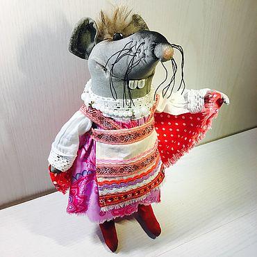 Куклы и игрушки ручной работы. Ярмарка Мастеров - ручная работа Крыса Василиса. Handmade.