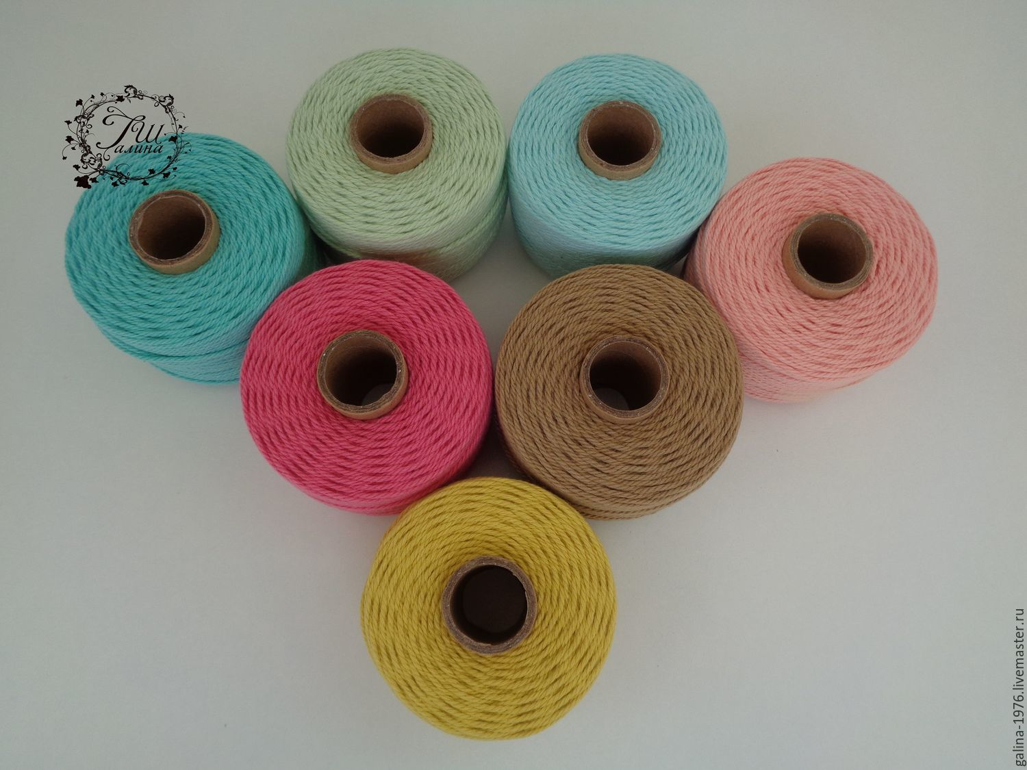 Twisted cotton rope, 2mm, Accessories4, Voronezh,  Фото №1