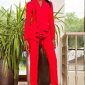"""Одежда ручной работы. Ярмарка Мастеров - ручная работа NEW! Костюм """"Iguana"""" красный. Handmade."""