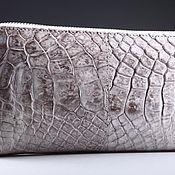 Сумки и аксессуары handmade. Livemaster - original item Wallet crocodile leather IMA0206W5. Handmade.
