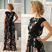 Платье в пол Алэйна / длинное платье / летнее платье
