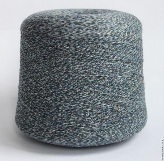 Вязание ручной работы. Ярмарка Мастеров - ручная работа. Купить Твид Италия 75%шерсть, 15% полиамид, 10%вискоза. Handmade. Серый